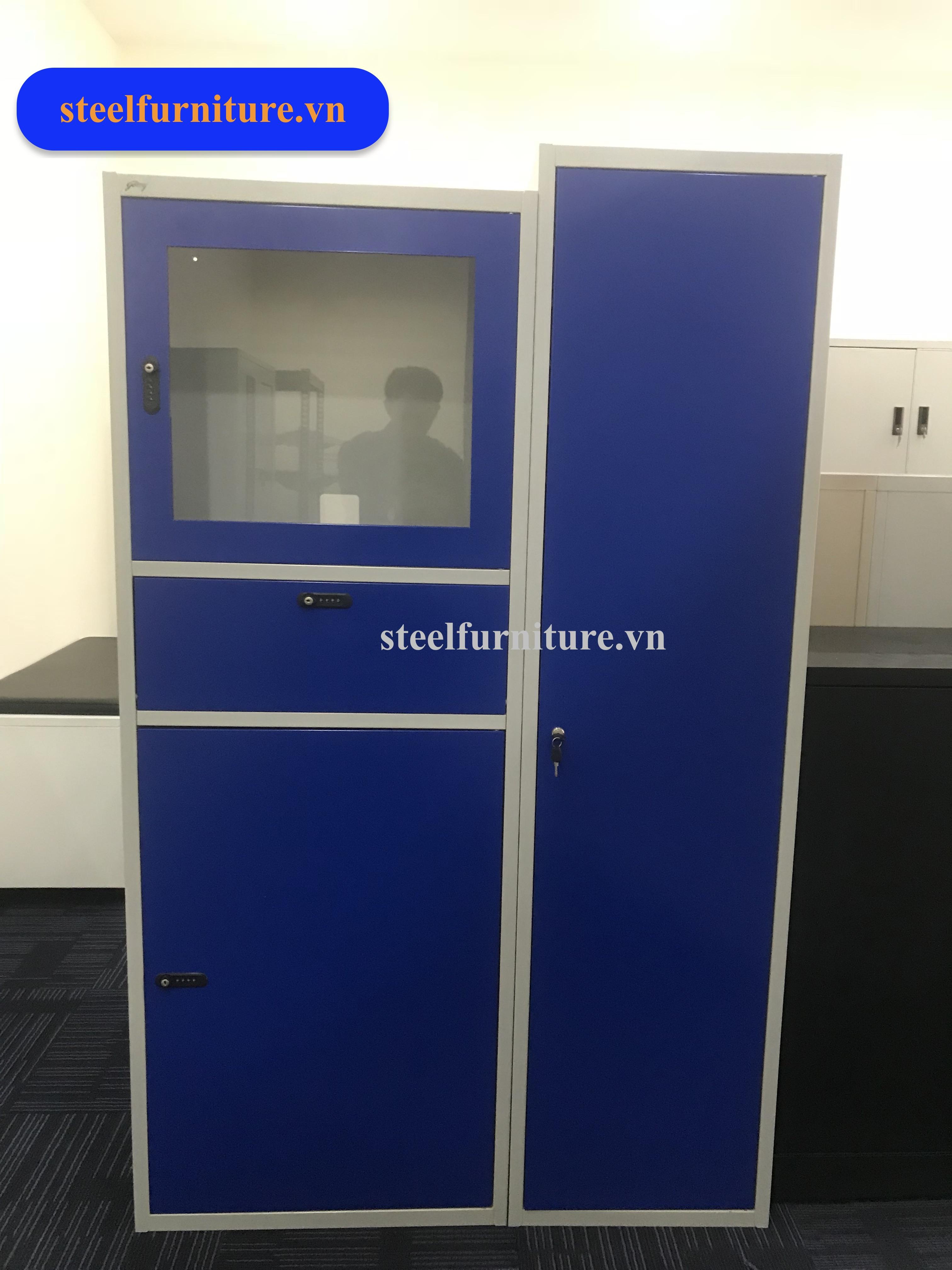 Tủ server máy tính phòng Lap