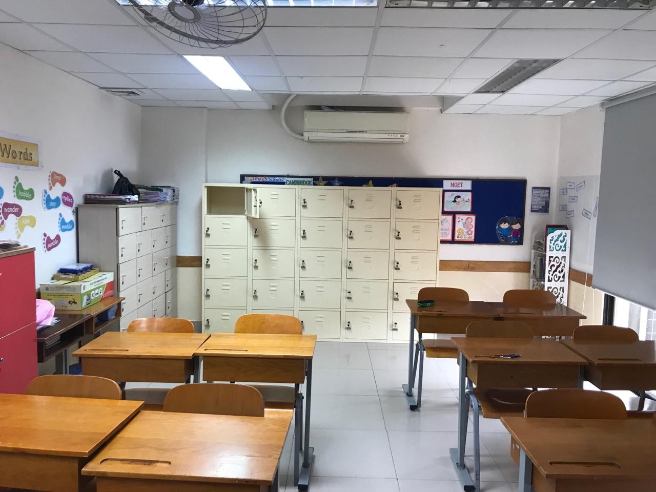 Cung cấp tủ locker cho hệ thống trường học